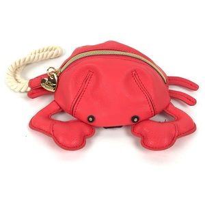 Betsy Johnson Crab Kitchi Wristlet